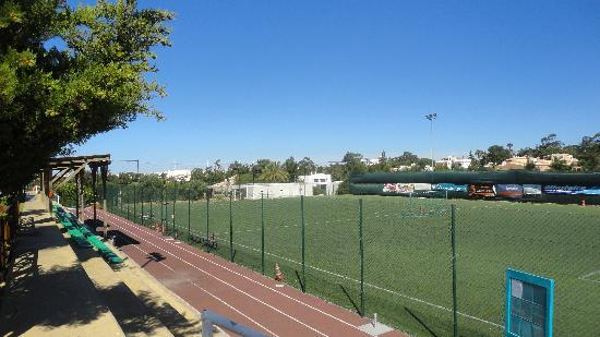 Holiday Village Algarve Balaia: On site football pitch