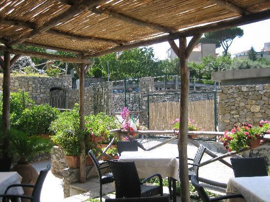 Il Ducato Di Ravello: Breakfast terrace