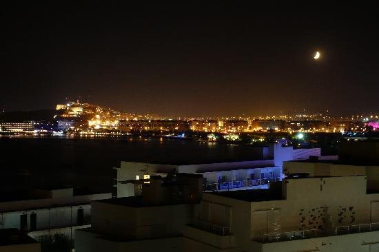 View of Ibiza and Talamanca Bay from Old Town - Picture of