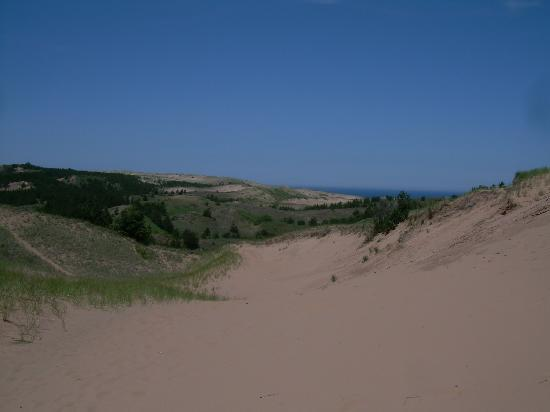 Pictured Rocks National Lakeshore: Grand Sable Sand Dunes