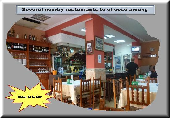 Hotel Solymar: A local eating place