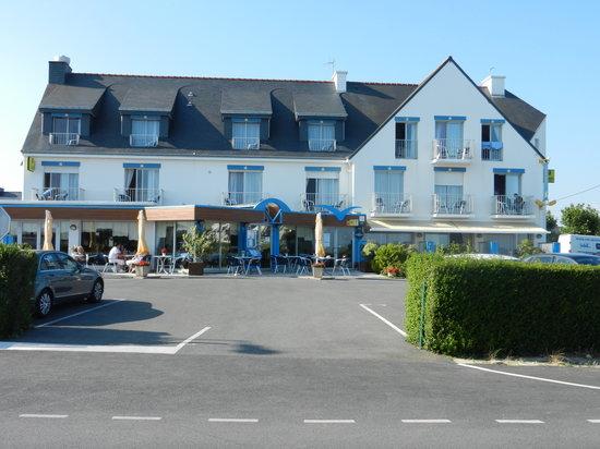Damgan, Франция: vue hôtel