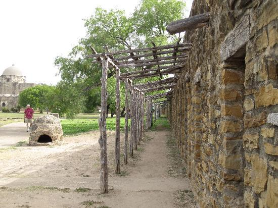 Mission San Jose: Outside the Indian Quarters