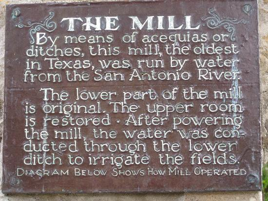 Mission San Jose: The Mill