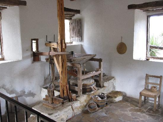 Mission San Jose: Inside the Mill