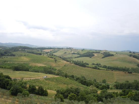 I Melograni del Chianti: view from bedroom