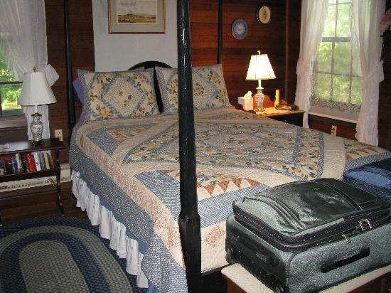 Ox-Ford Farm Bed & Breakfast Inn: downstairs bed