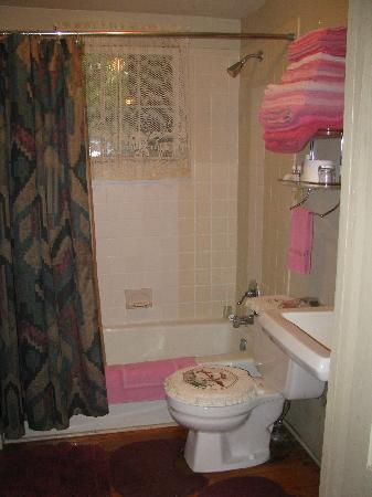 Ox-Ford Farm Bed & Breakfast Inn: downstairs shared bath