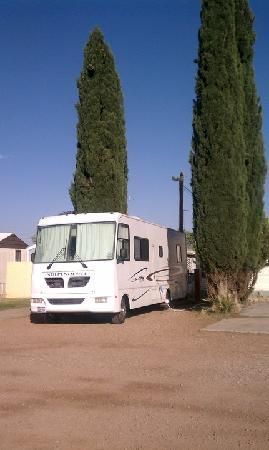 Stampede RV Park and B&B: My slip at the Stampede...