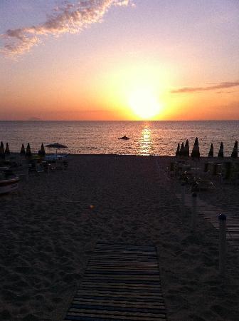 ...il tramonto al Blu Tropical