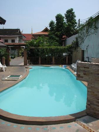The pool at M.D. House