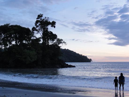 Tulemar Bungalows & Villas: The private beach