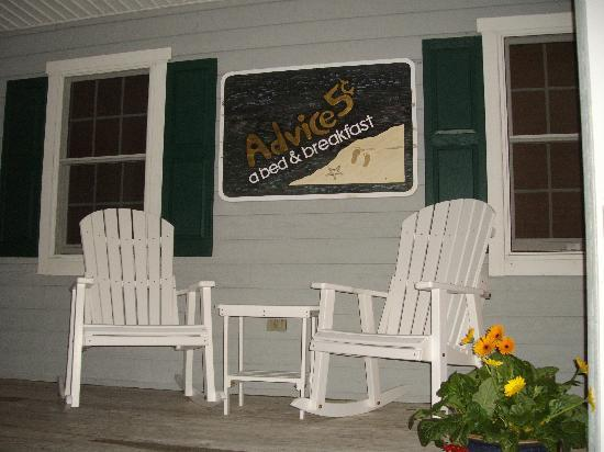Advice 5 Cents, a bed & breakfast: What a great place to relax!