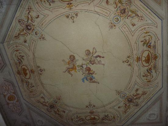 Casa Santo Nome di Gesu: Our beautiful ceiling
