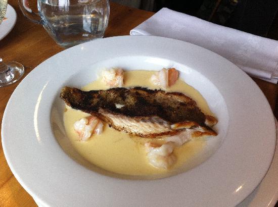 47 Mussel Row: Fillet of seabass in prawn cream sauce.  Amazing.