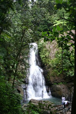 Old San Juan: El yunke waterfall