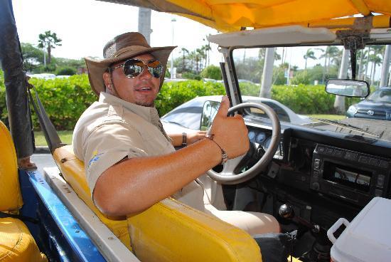 ABC Tours Aruba Rocky Our Jeep Tour Guide Hes Fantastic