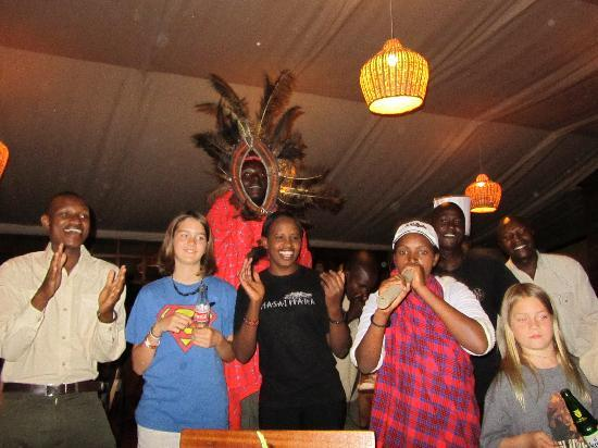 Mara West Camp: 88th birthday - Masai style