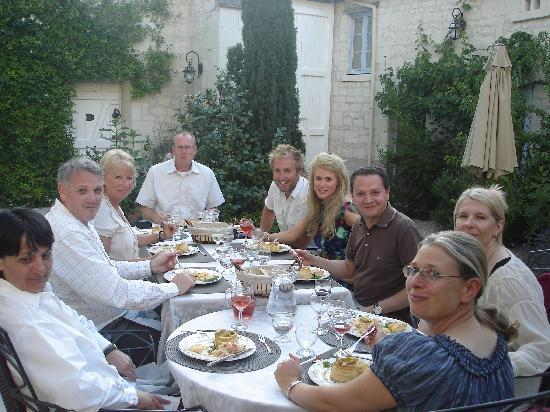 La Closerie Saint Martin : Friends!