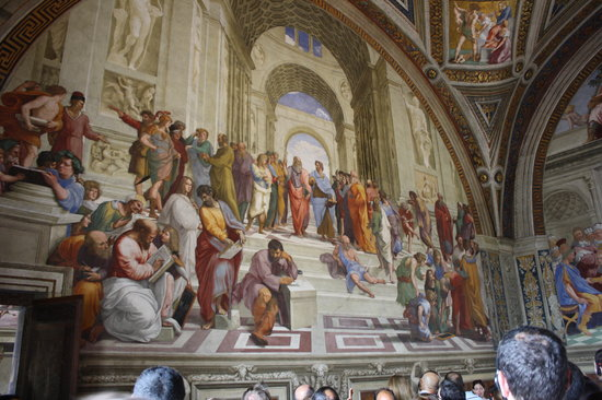 Icon Tours : Rafeal Frescos in the Vatican Museum