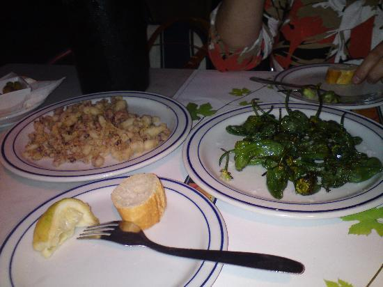 Restaurante El Balear: Choco.s & Padron Peppers