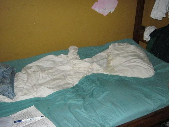 The Bearded Monkey: My messy bed