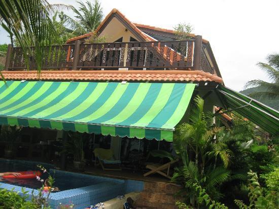 Laguna Villas : Hausseite zum Meer
