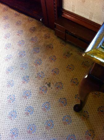 Belhurst Castle: Filthy rug