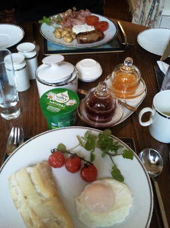 Swan Lodge: Breakfast