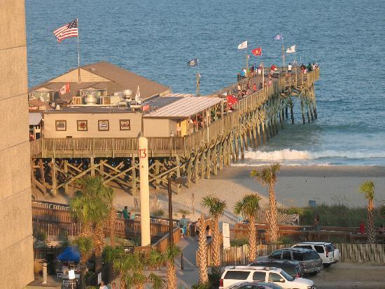 Aqua Beach Inn Looking At Pier 14