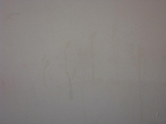 King Solomon Hotel: stains on the walls