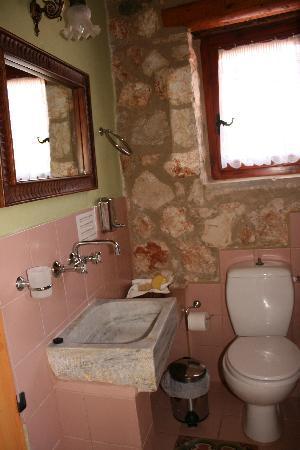 Orfos Villas: Badezimmer im 1. Stock