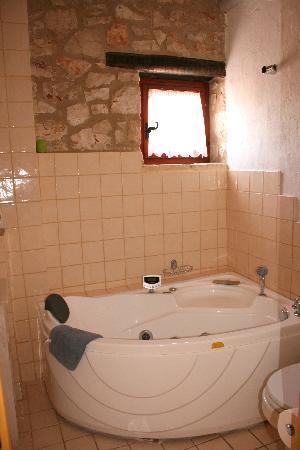Orfos Villas: Badezimmer im Erdgeschoß