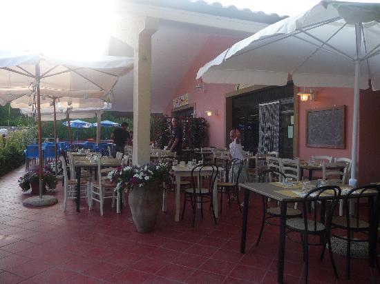 Bibbona, Itália: il ristorante