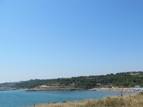 Defensola, Itália: Spiaggia della Molinella