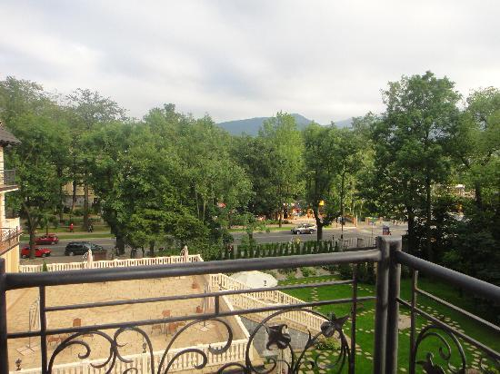 Grand Hotel Stamary : room 316, the view from the balcony