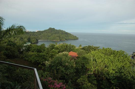 Tulemar Bungalows & Villas: View from the balcony.