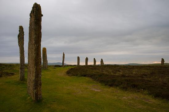 Straigona B&B: The Ring of Brodgar (about 15 miles away).