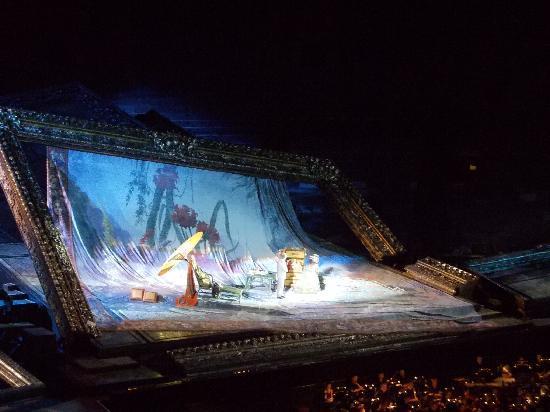 Arena di Verona: scenografia