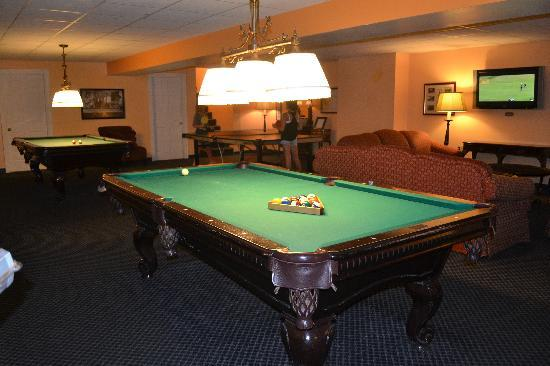 Dolce Stockton Seaview Hotel & Golf Club : Renovated Game Room Area-All Free