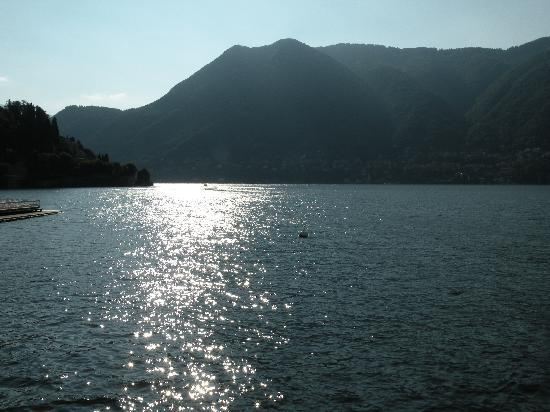 Villa d'Este: view from hotel room