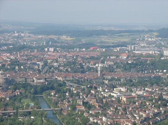 Gurten - Park im Grünen: View of Bern from Gurten