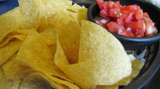 Baja Bean Co.: Chips and Salsa
