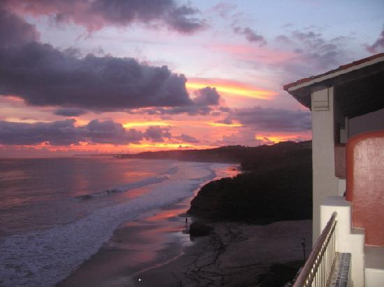 Rancho Banderas All Suite Resort by Marival Group: sunset from our balcony