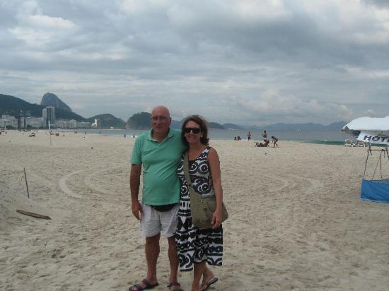 Augusto's Copacabana Hotel: la playa de Copacabana