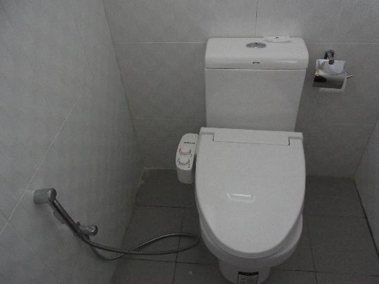 Hotel Hallmark Inn: Showerd (bidet)toilet