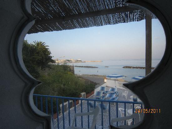 La Rotonda Sul Mare: вид из спальни