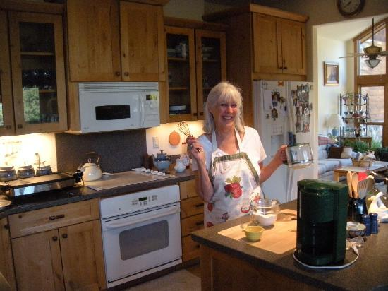 A Wolf Den B & B: Best chef this side of the continental divide!