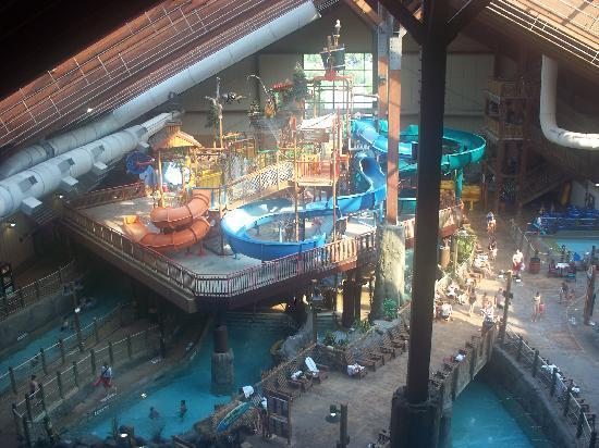 Waterslides Picture Of Six Flags Great Escape Lodge
