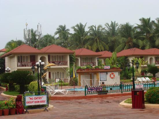 Radhika Beach Resort: Entire View